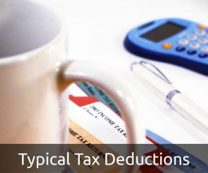 Typical Tax Deductions
