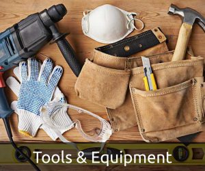 Tools & Equipment